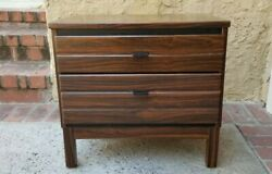 Mcm Rosewood Nightstand Or End Table By American Of Martinsville 1960and039s