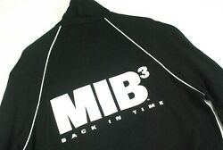 Rare Men In Black 3 Movie Promo Track Jacket Mens Large Will Smith Shirt