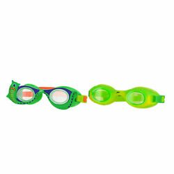 Speedo Scales And Tails Lime And Monster Unisex Kids Swim Cap