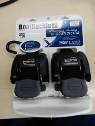Boat Buckle G2 Retractable Tie Down System Boat Trailer Transom F08893 Bass Boat