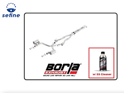 Borla Cat-back Exhaust Atak W/ss Cleaner For 17-19 300/ Charger R/t 140723