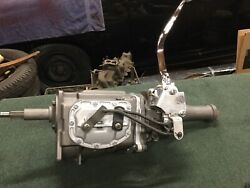 Rebuilt 1964 Falcon T-10 4-speed Manual Transmission With New Hurst Shifter