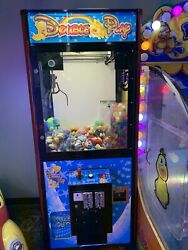 Double Play Crane Coin Operated Redemption Game