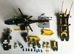 6445 6462 6451 Res Q Lego Set 1998 Vintage 7 Minifigures Helicopter Extra Parts