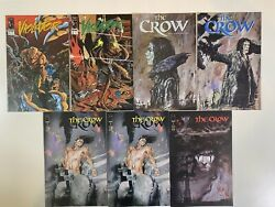 The Crow + Violator Comic Lot 7, Including The Crow 1 Variant