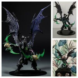 World Of Warcraft Illidan Action Figure 8 Wow Pvc Resin 1/12 Statue Model Toy