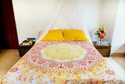Sunflower Tapestry or Yellow Mandala Bedding with Pillow Covers Indian