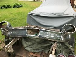 1959 Cadillac Sedan Rear Bumper. Complete With Grill Lights Brackets.sale