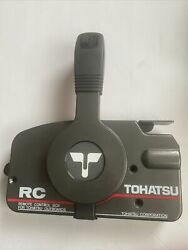 Tohatsu Remote Control Box Never Used With Box Missing Key Switch And Kill Switch