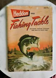 1951 Heddon Fishing Tackle Catalog - Great Condition