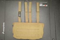 Tag Mag Panel Pouch 8x Tan Od Tactical Assault Gear Triple Molle Lbt Bfg Crye