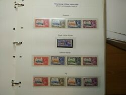 1935 Coronation Silver Jubilee Mnh Incl. Rare Egypt Issue