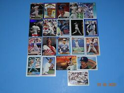Baseball Card Fred Mcgriff - 20 Cards