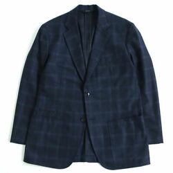 Hermes Plaid Lamb Leather Use Wool Cashmere Sin _58932