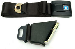 Chevelle Seat Belt, Lap, With Retractor, For Cars With Standard Bucket Seat,