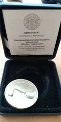 Estonia Coin 10 Krooni Vancouver Winter Olympics 2010 Proof In Box With Cert