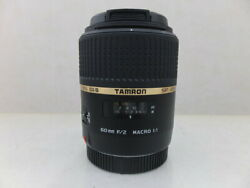 Secondhand Tamron Sp Af6mmf2 Macro Di Ii For Canon G5e Interchangeable Lenses