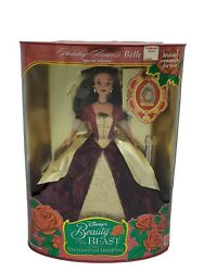 1997 Holiday Princess Belle Special Edition Disneys Beauty And The Beast Doll
