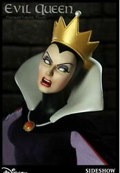 Sideshow Evil Queen W / Crow- Disney Exclusive Mint Only 300 Made