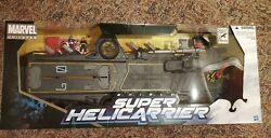 Marvel Universe Shield Super Helicarrier 2012 Sdcc Exclusive W/ Maria Hill 3.75