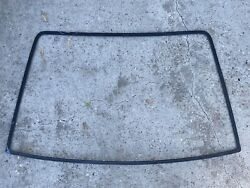 87-93 Mustang Rear Hatch Glass Trim Exterior Molding Outer Hatchback Coupe Oem 1
