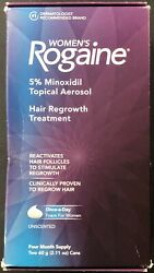 Womenand039s Rogaine Hair Regrowth Treatment Foam 4 Month Supply Exp. 2022+