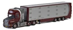 Wsi01-2502 - Truck With Cattle Trailer Scania T5 Torpedo Topline For Colors Vaex