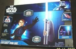 Attack Of The Clones Anakin Skywalker Light Saber Wall Fantasy B/o Role Play Toy
