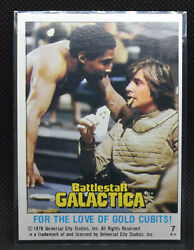 1978 Battlestar Galactica 7 For The Love Of Gold Cubits