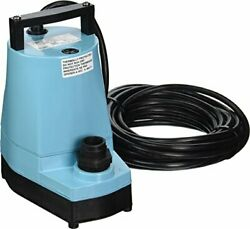 Little Giant 505025 5-msp Series 1200 Gph 1/6 Hp Submersible Utility Water Pu...