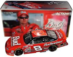 Autographed 2003 Dale Jr. 8 Budweiser 2000 Richmond No Bull Signed 1/24 Diecast