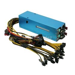 2400w Server Power Supply Graphics Card Support 110v-270v For 8 Graphics Cards