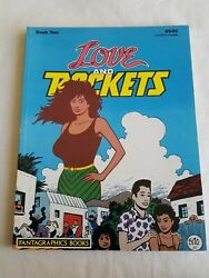 Love And Rockets Book Two Tpb Paperback Fantagraphics 1986 1st Ed. Graphic Novel