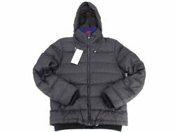 2017 Gg Pattern Down Jacket With Hood Nylon Black 48 Secondhand 2021 _2414