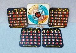 Hassenfeld Bros Hasbro Bingo Game Metal Tin Toy Spinner Rooster And 4 Cards