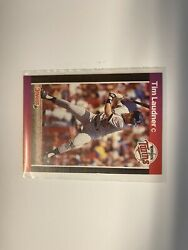 Timothy Laudner Donruss 89andrsquo 615 Error No Period After Inc Very Rare