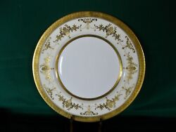 Minton Riverton Bone China 6 Dinner Plates Excellent Cond. Discontinued Pattern