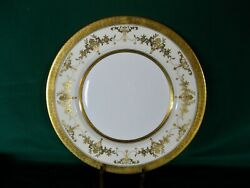 Minton Riverton Bone China 6 Dinner Plates, Excellent Cond. Discontinued Pattern