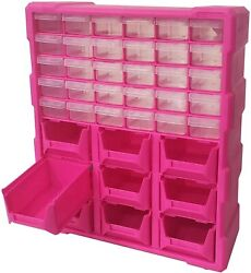 Small Parts Storage Cabinet Drawer Nuts Bolts Bench Drawers Bin Organizer Box