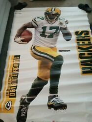 Green Bay Packers Devante Adams Fathead 37 Wide X 78 Tall Removable Decal