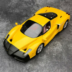 Bbr 118 Scale Ferrari Enzo Yellow Alloy Fully Open Diecast Car Model Collection