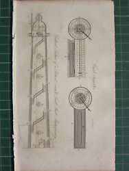 1831 Print Cash Register Small Lead Shot Manufactory Vertical Sectional