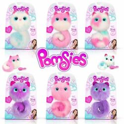 Pomsies Interactive Pets Plush - Choose Your Design - Pom Talks And Lights Up