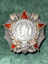Authentic Wwii Order Of Alexander Nevsky 20172 Type 3 October 1944