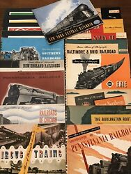 Trains Album Of Photographs - 19 Volume Collection - Nice