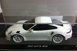 Spark Porsche 911 991 Gt3 Rs Coupe Iaa 2015 White Dealer Lim Ed Of 500 1/18 New