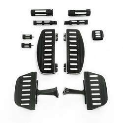 Floorboard Hand Grips Footpeg Brake Pedal Fit For Harley Touring Road King 86-20