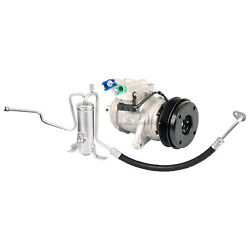 Oem Ac Compressor W/ A/c Drier For Jeep Grand Cherokee 2002 2003 2004