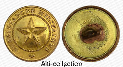Button Officers Directors Subsistances Militaires. France 1845. 0 15/16in