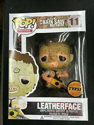 Funko Pop Movies Leatherface 11 2761 Chase In Stock
